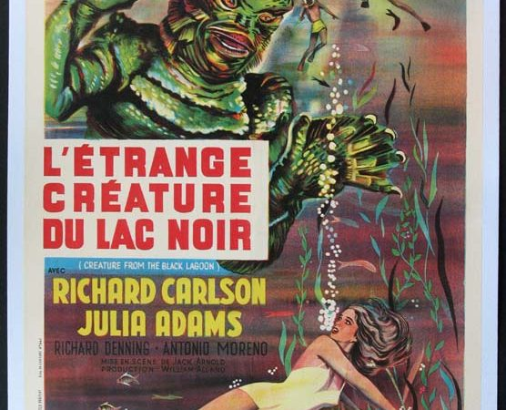 Creature from the Black Lagoon French Poster